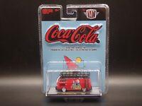 A08 21-05 Cola Cola 1960 VW Delivery Van M2 Machines 1:64