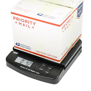 Horizon 55 LB x 0.1 OZ Digital Postal Shipping Scale SF-550 V4 Desktop Scale