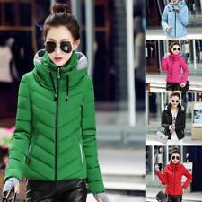 Winter Warm Women Short Slim Down Hooded Coat Jacket Parka Fashion LG