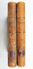 1907 Imperial RUSSIA Мир, его Прошлое, Настоящее и Будущее К. Штерне in 2 Books