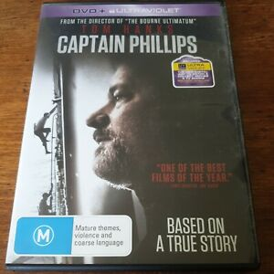 Captain Phillips DVD R4 VERY GOOD - FREE POST