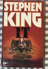 Stehen King IT 1986 First Edition Book Club Associates Hardback Dustcover GPL