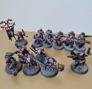 Warhammer 40k Genestealer Cult Brood Battleforce Painted