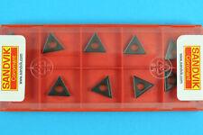 10 SANDVIK TCMT 110204-UR - Grade 4235 CNC Lathe Coated Carbide Turning Inserts