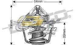 DAYCO Thermostat(inc seal)FOR Jeep Commander 5/06-3/10 4.7L MPFI XH 170Kw EVA
