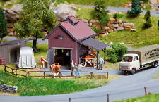 130537 Faller HO Kit of a Slaughter house, Patinated model - NEW