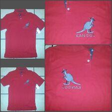 Red short sleeve polo Shirt Mens Red Kango short sleeve polo shirt S NWT