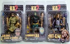 """Kick Ass 2 Movie 7"""" inch Action Figures Set of 3 Series 2 Neca 2014"""