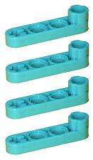 Missing Lego Brick 2825 Teal x 4 Technic Beam 4 x 0.5 Liftarm with Boss