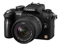 Panasonic LUMIX DMC-G10K 12.1MP Digital Camera - Black (Kit w/ VARIO G ASPH...