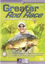 THE GREATER ROD RACE - 5 DVD BOX SET - PRESENTED BY MATT HAYES WITH MICK BROWN