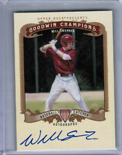 2012 UD GOODWIN CHAMPIONS WILL SWANNER AUTOGRAPH AUTO COLORADO ROCKIES