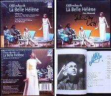Felicity LOTT, Marc MINKOWSKI Signed OFFENBACH La Belle Helene 2CD Naouri Beuron