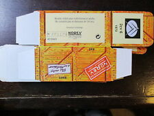 BOITE VIDE NOREV  CITROEN 2CV 6 1973  EMPTY BOX CAJA VACCIA
