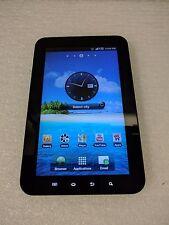 Samsung Galaxy Tab 7 SCH-I800 2GB /Wi-Fi /3G /Black (Verizon) Bad HP Jack - Used