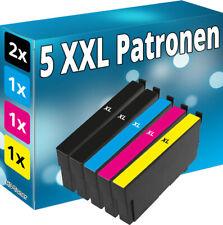 5x Tinte Patronen für Epson WorkForce WF 3820 DWF 7840 DTWF 7835 DTWF 7830 DTWF