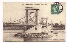 avignon ,  le pont suspendu