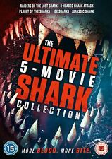 The Ultimate Shark 5 Film Collection (region 4) DVD Ice Jurassic 3 Headed Attack