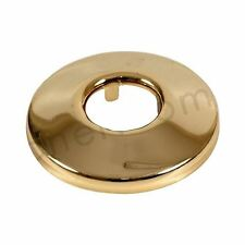 """1/2"""" (20mm) Brass Golden Plated Cone Stainless Steel Pipe Collar Rose"""