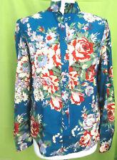 Long Sleeve Collared Chiffon Tops & Shirts Size Petite for Women