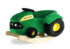 NEW John Deere Plush Rocking Tractor, Ages 18-36 months, Fully Assembled (53389)