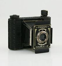 HOUGHTON Ensign Double 8 Strut Folding Camera 3x4cm c.1935 - SCARCE (KZ104)