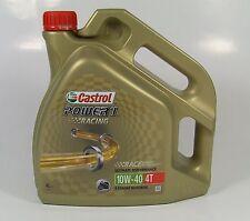 CASTROL POWER 1 Racing Ultimate Performance 4T 10W-40 / 4 Liter Vollsynthetisch
