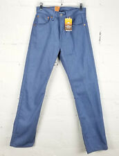 Levis 501 Men's Jeans Blue Button Fly Shrink to Fit Denim Pants Straight Leg NWT