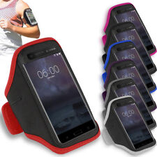 Prime Gym Sports Armband Running Jogging Exercise Workout Arm case For Nokia 8