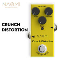Crunch Distortion Effect Mini Single Distortion Electric Guitar Effects Pedal