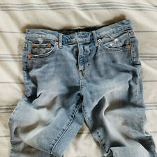 Gap For Good 1969 Best Girlfriend Mid Rise Relaxed Fit Jeans Stretch Size 27