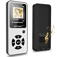 BERTRONIC Made in Germany BC01 16 GB MP3-Player - Weiss - 100 Stunden Laufzeit