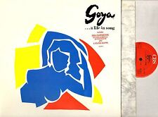 GOYA: A LIFE IN SONG SOUNDTRACK OST placido domingo/jennifer rush/etc LP EX/EX