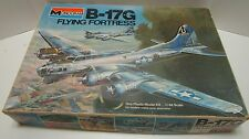 LARGE 1975 MONOGRAM 1/48 B-17G FLYING FORTRESS MODEL KIT **UNBUILT & COMPLETE**