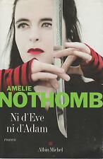 AMELIE NOTHOMB NI D'EVE NI D'ADAM + PARIS POSTER GUIDE