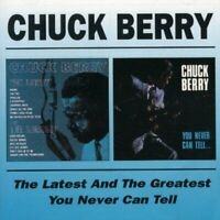 Chuck Berry - The Latest And The Greatest/You Never Can Tell (1998)  CD  NEW
