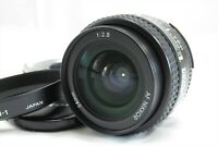 【EXC+++++】Nikon AF Nikkor 24mm f/2.8 Wide Angle Lens w/ Hood HN-1 Japan #3160
