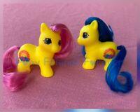 G1 Style Pony Custom Hqg1c - Sun Twins - PFF - Teeny Itty Bitty Tiny