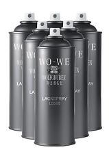 8,30 €/L - 6x400ml SPRAY VERNICE Boccalini colore lucido-come ral7011 grigio ferro