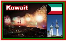 KUWAIT - SOUVENIR NOVELTY FRIDGE MAGNET - BRAND NEW - GIFT