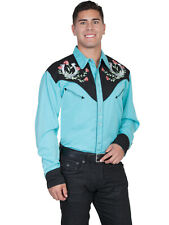 Scully Men's Western Snap Front Shirt P-660X