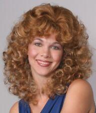 Medium Length Curly Natural Bang Wigs Hairpieces Ebay