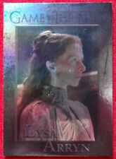GAME OF THRONES - LYSA ARRYN - Season 4 - FOIL PARALLEL Card #93