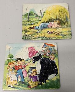 Vintage Frame Tray Puzzles Platt & Munk Publishers