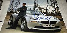 Pierce Brosnan As Agent James Bond 007 Hand Signed 11x14 Photo COA Proof x