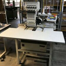 Brother BAS-416 Embroidery Machine Industrial Fully Working 9 Needle