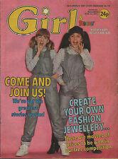 Girl & Dreamer Magazine 26 March 1983    Bucks Fizz