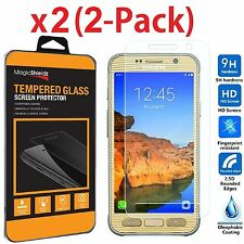 2-Pack 9H Premium Tempered Glass Screen Protector for Samsung Galaxy S7 Active