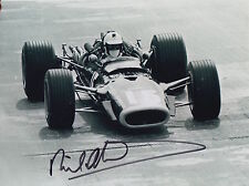 Richard Attwood Hand Signed 8x6 Photo F1.