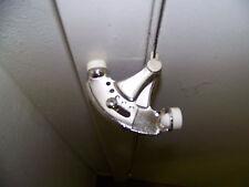 Lot of 6 Adjustable Hinge Pin Door Stops Satin Nickel Finish- Free Shipping